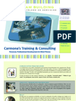 Carmona's Training Consulting Team Building Cataloge