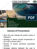 Secretary Thar Coal and Energy