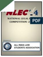 NLEC'14 Brochure