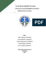 Upaya Hukum Atas Penerbitan SKP Fixed