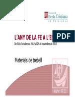 Materials Any de La Fe ( FECC)