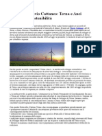 Ambiente Flavio Cattaneo Terna Anci Insieme Per Sostenibilita