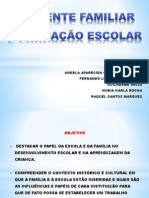 psicologia escolar - Família e escola (1)
