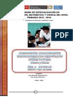 Modulo Conocimientos Disciplinares Matematica Yony 07-09-12