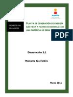Central Termica de Biomasa Con Eucalipto
