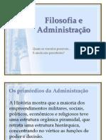 Filosofia e Administração