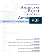Tailored Advertising (survey published sep 2009)