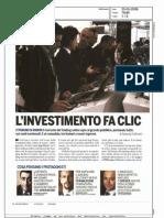 L'investimento fa clic (Economy, 20/05/2009)