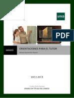 TUTORES. Historia General de La Ciencia I