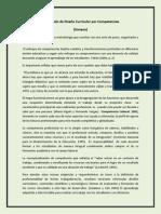 Diplomado de Diseño Curricular por Competencias