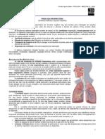 FISIOLOGIA II - Fisiologia da Respiração (atualizado)