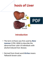 Fc28cirrhosis of Liver Ppt