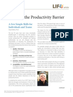 Breaking Productivity Barrier