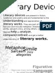 Literary Devices Pdf