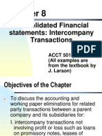 Chapter 8 Consolidated Finanical Statemetns