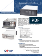 M4U-20A Rugged 901D Qualified Rackmount Computer
