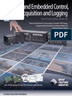 Industrial and Embedded Control, Data Acquisition and Logging