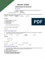 Provão-Enade Administração de Materiais e Logística (2)