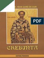 Sf Ioan Gura de Aur_Credinta