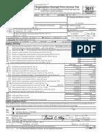 2012 Tea Party Patriots TPP 2012 Form 990 Public Inspection