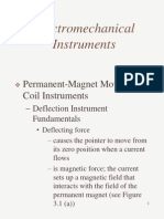 Electromechanical Instruments
