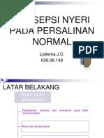 Persepsi Nyeri