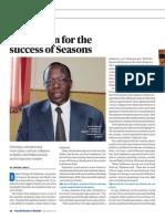 Reason for Success of Seasons