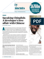 Speaking Chinglish, A Developer's Love Affair With the Chinese