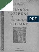 Biserici, chipuri şi documente din Olt. Volumul 1