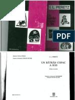 I.L. Peretz - Un Batran Copac a Ras