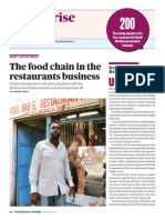 The Food Chain in the Restaurant Business