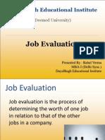 Job Evaluation1