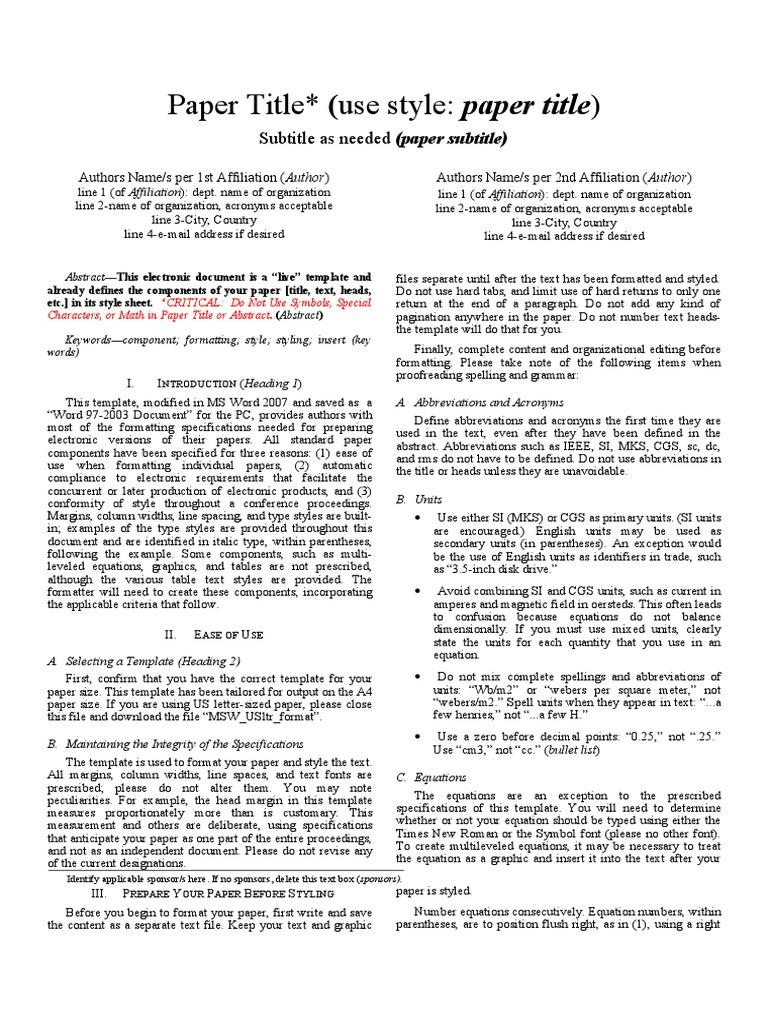 ijert research paper format