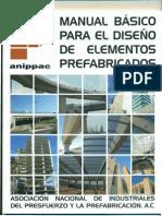 MANUAL BASICO PARA EL DISEÑO DE PREFABRICADOS