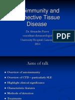 Connective Tissue Disease Lecture