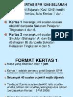 Teknik Menjawab SPM 2009