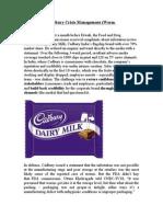 Case Cadbury