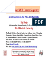 To NVH Courses Certficate R Singh OSU 2007