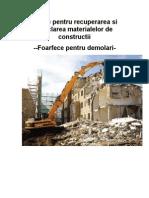 80492526 Utilaje Pentru a Si Reciclarea Materialelor de Constructii