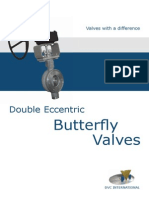 Double Eccentric Butterfly Valves R1