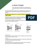 DESCRIPCION de Valvulas de Acero Forjado de 2 a 4 Plg