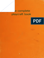 The Complete Playcraft Book