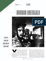 Virtual-realty pioneer Howard Rheingold