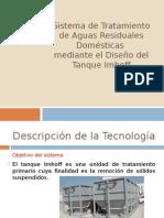 Sistema de Tratamiento de Aguas Residuales Domésticas mediante