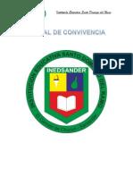 MANUAL de CONVIVENCIA - Santo Domingo Del Ramo