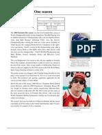 2010 Season of F1 (wikipedia)