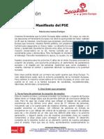 ManifiestoPES_europeas