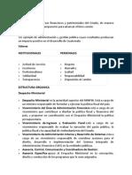 Info Basica Ministerio de Finanzas