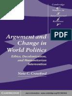 [Neta C. Crawford] Argument and Change in World