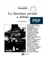 Cervera, J - La Lit Juvenil a Debate